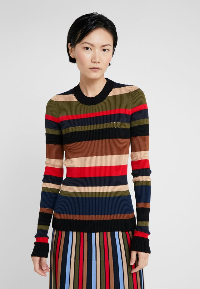 Strickpullover - multicolore