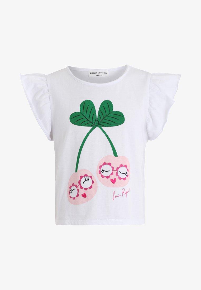 Sonia Rykiel - AMANDE - T-shirts print - blanc