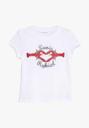 CALVI - T-Shirt print - blanc
