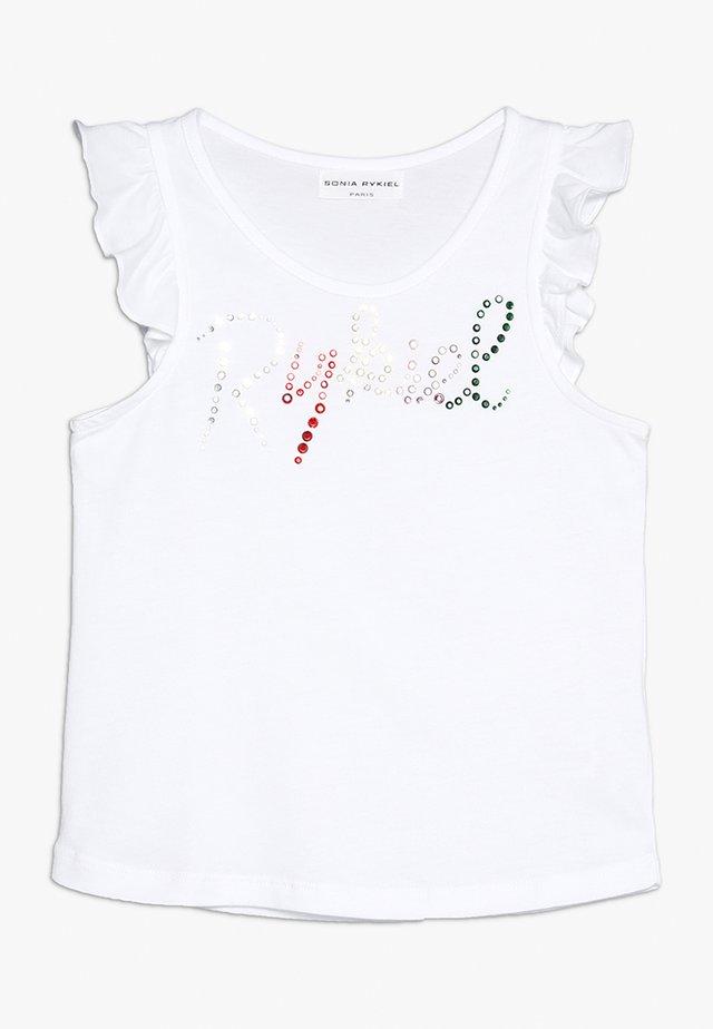 COLZA - T-shirt z nadrukiem - blanc