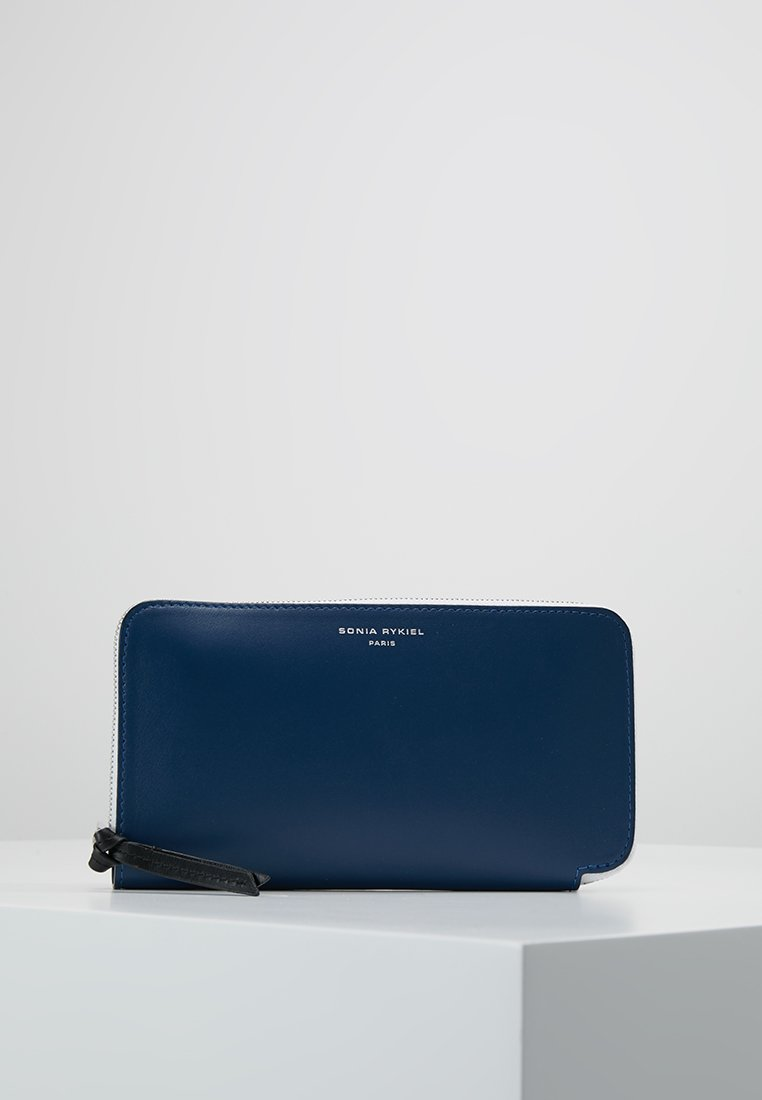 Sonia Rykiel - ZIPPED WALLET - Lompakko - dark blue