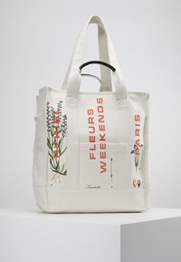 Sonia Rykiel - MEDIUM TOTE BAG TOILE - Cabas - beige - 0