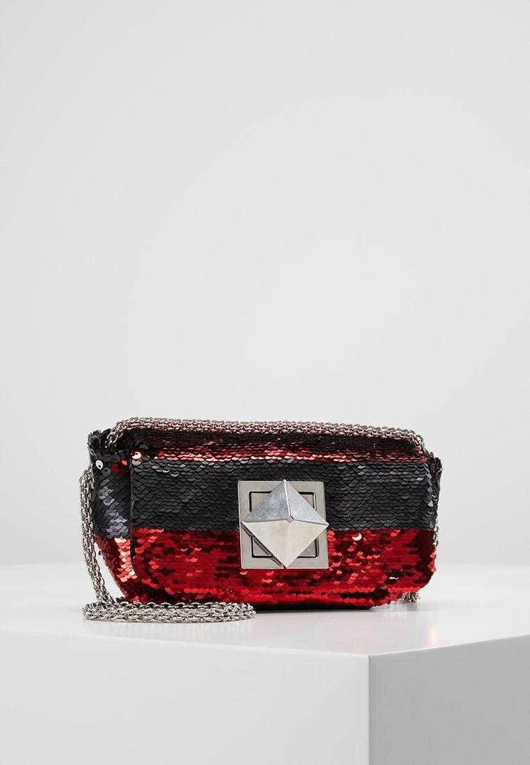 Sonia Rykiel - COPAIN LE COPAIN - Across body bag - black/red