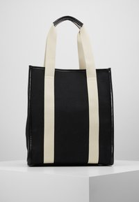 Sonia Rykiel - TOTE TOILE CHEVRON - Shopping Bag - noir - 2