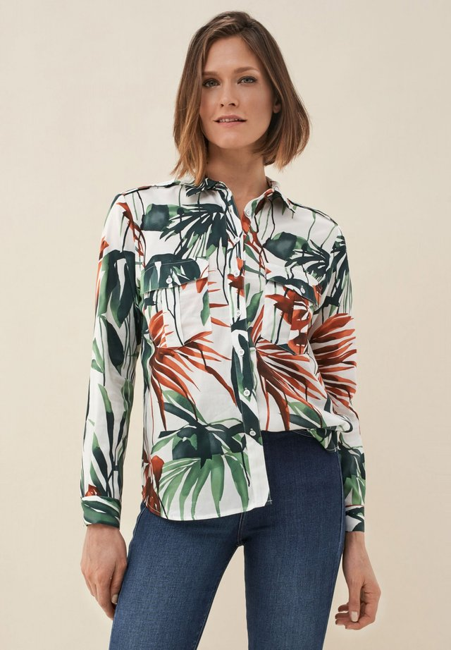 MAGDALENA HEMD - Button-down blouse - dark green
