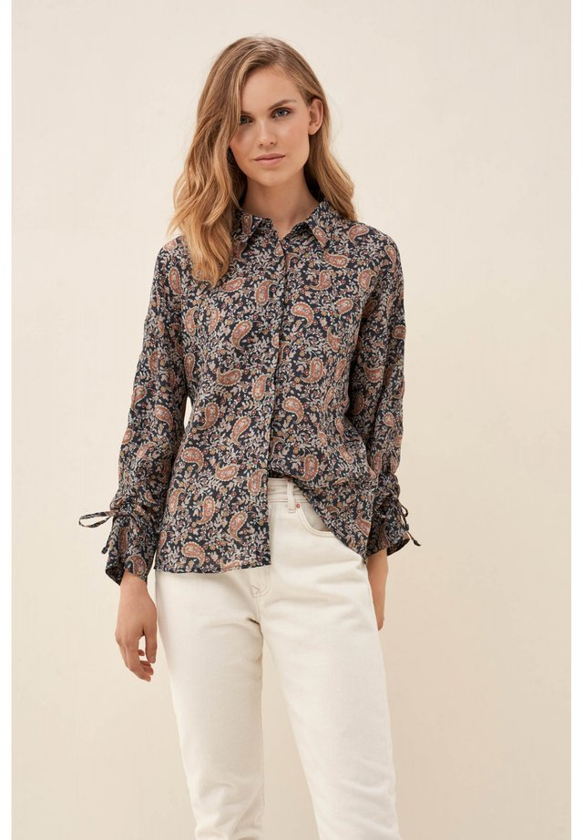 SEVILLA - Button-down blouse - blue