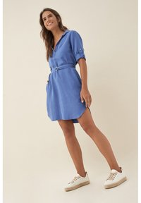 Salsa - EUGENE - Shirt dress - blue