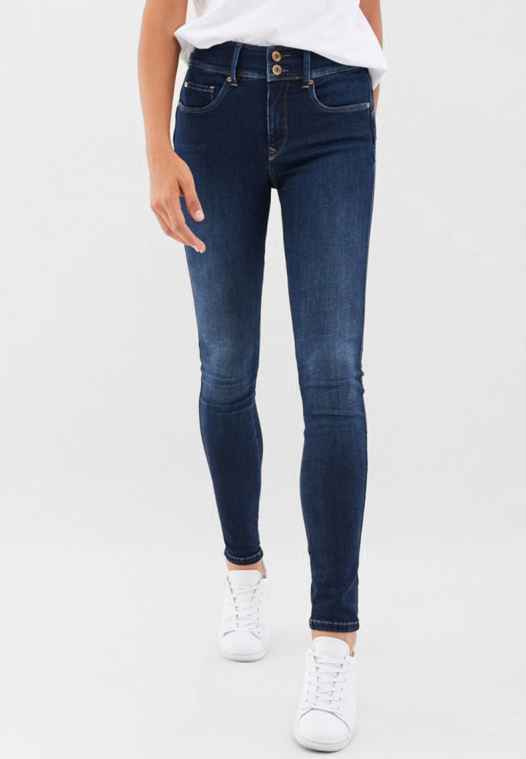 Salsa - Slim fit jeans - dark-blue denim