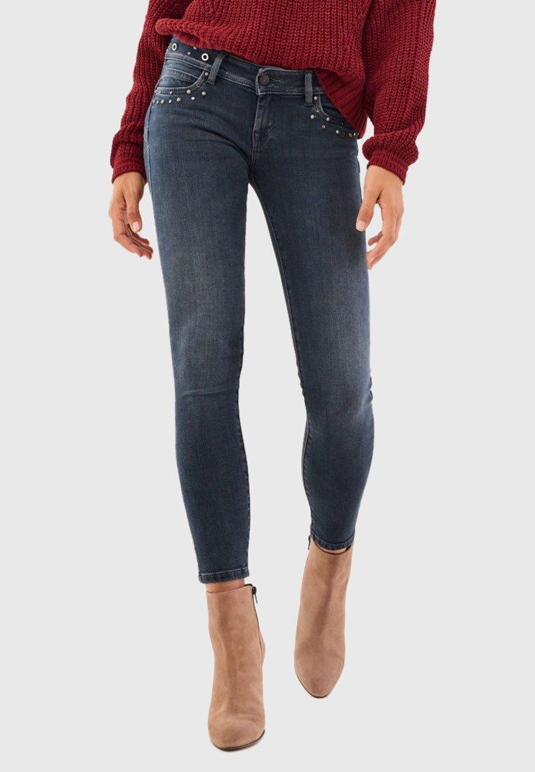 Salsa - PUSH UP - Jeans Skinny Fit - black