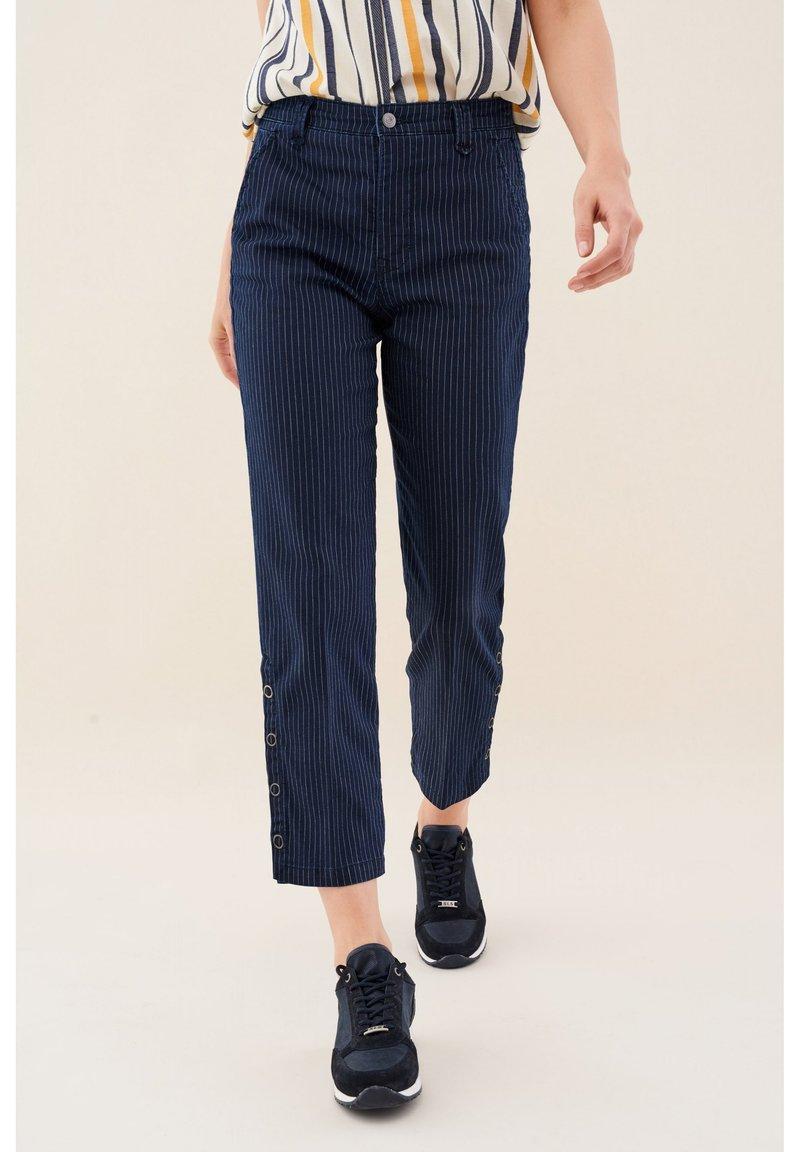 Salsa - JUNE  - Jeans Straight Leg - blue