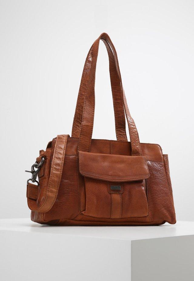 Håndtasker - brandy