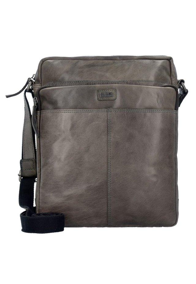 BRONCO M  - Across body bag - charcoal