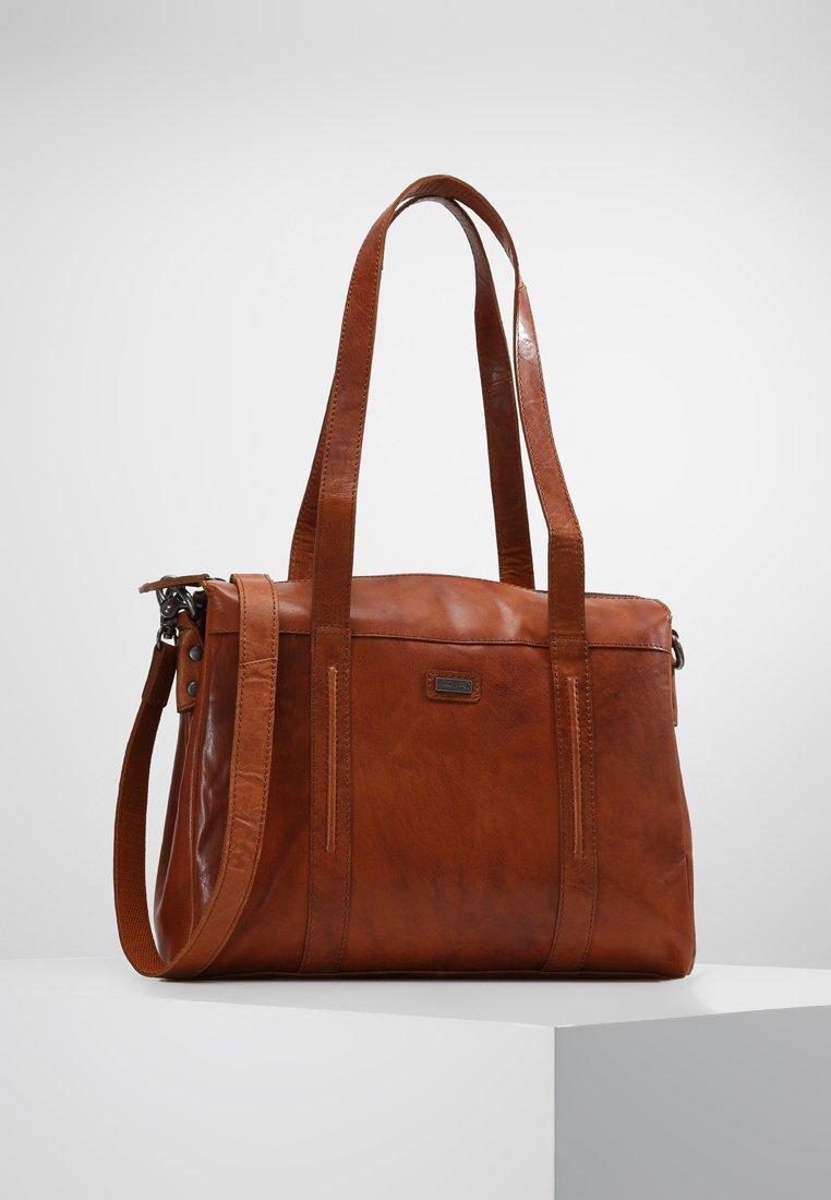 Spikes & Sparrow - Laptop bag - brandy