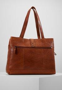 Spikes & Sparrow - Briefcase - brandy - 2