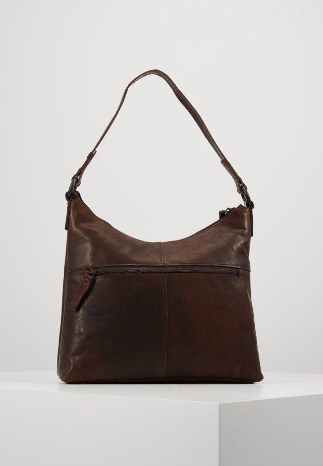 Handväska - dark brown
