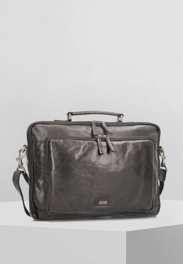 MIT RUCKSACKFUNKTION - Briefcase - black