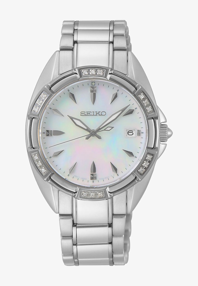 Seiko - Uhr - silver-coloured