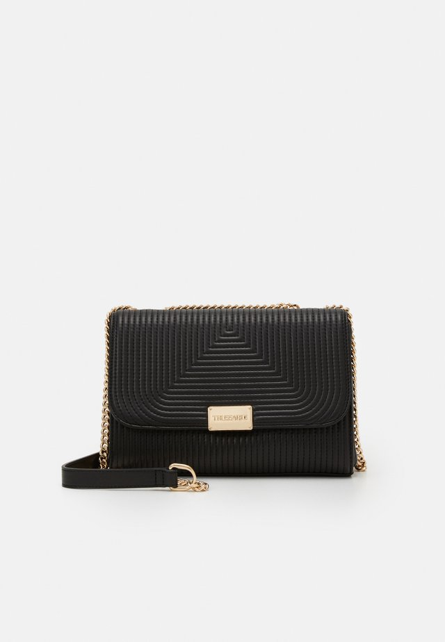 FRIDA QUILTED SHOULDER - Across body bag - black