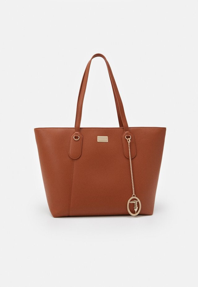 MONACO TUMBLED TOTE - Shopping Bag - tan