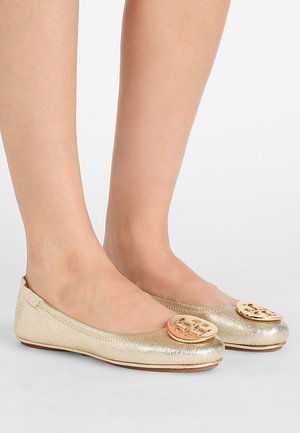 MINNIE TRAVEL - Ballet pumps - spark gold