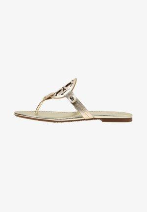 MILLER - Sandály s odděleným palcem - spark gold