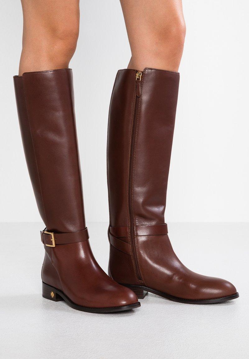 Tory Burch - BROOK - Botas - perfect brown