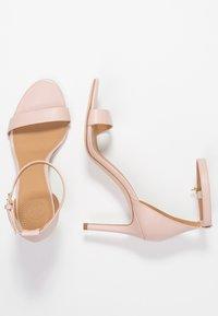Tory Burch - ELLIE ANKLE STRAP - Sandály na vysokém podpatku - sea shell pink - 3