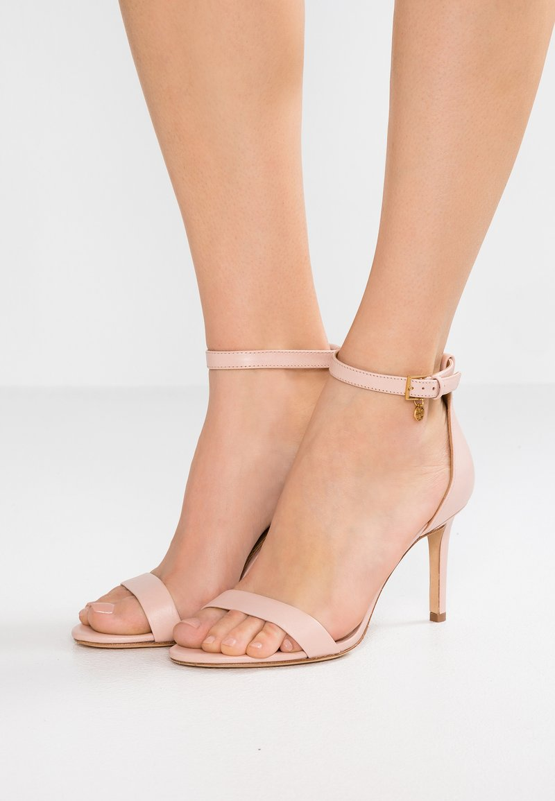 Tory Burch - ELLIE ANKLE STRAP - High heeled sandals - sea shell pink