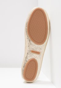 Tory Burch - MINNIE TRAVEL BALLET  - Ballet pumps - spark gold - 6