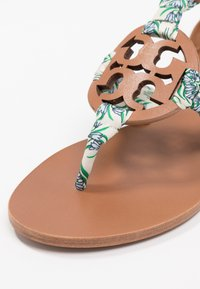 Tory Burch - MILLER  - Infradito - tan /blue meridian - 2