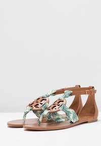 Tory Burch - MILLER  - Infradito - tan /blue meridian - 4