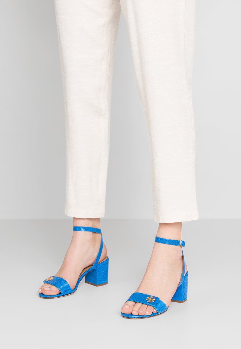 Tory Burch - KIRA - Sandals - bright tropical blue