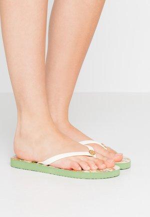 THIN - Sandály s odděleným palcem - new ivory