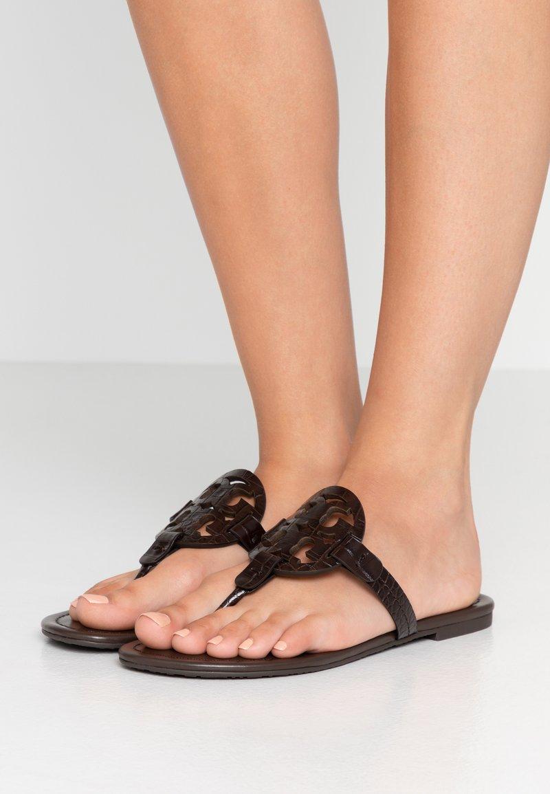 Tory Burch - MILLER - T-bar sandals - brown
