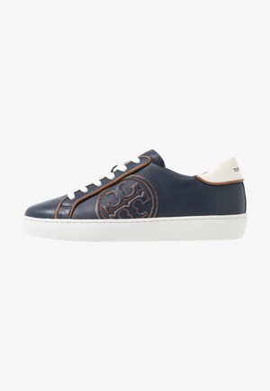 T-LOGO PIPED - Sneaker low - royal navy