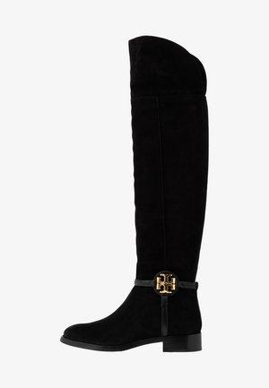 MILLER BOOT - Overknee laarzen - perfect black