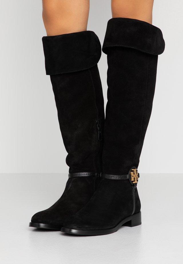 MILLER BOOT - Overknees - perfect black