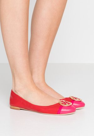 MINNIE CAP TOE BALLET - Bailarinas - brilliant red/bright azalea