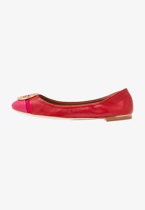 MINNIE CAP TOE BALLET - Baleríny - brilliant red/bright azalea