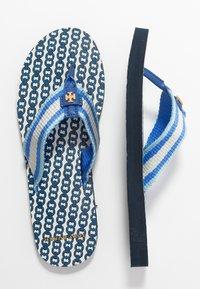 Tory Burch - GEMINI LINK THIN  - T-bar sandals - blue - 3