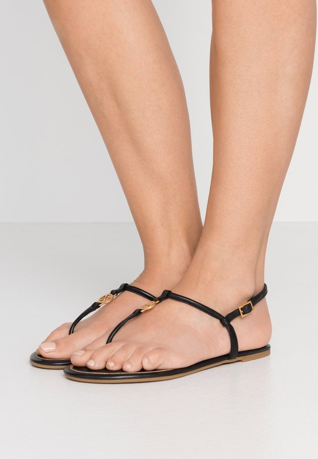 EMMY  - T-bar sandals - black