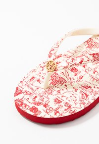 Tory Burch - PRINTED THIN - Boty do bazénu - red - 2
