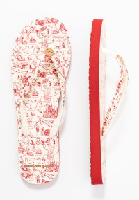 Tory Burch - PRINTED THIN - Boty do bazénu - red - 3