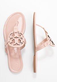 Tory Burch - MILLER - Sandály s odděleným palcem - sea shell pink - 3