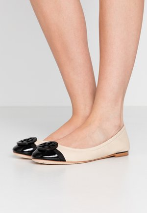 MINNIE CAP TOE BALLET - Baleríny - dulce de leche/perfect black