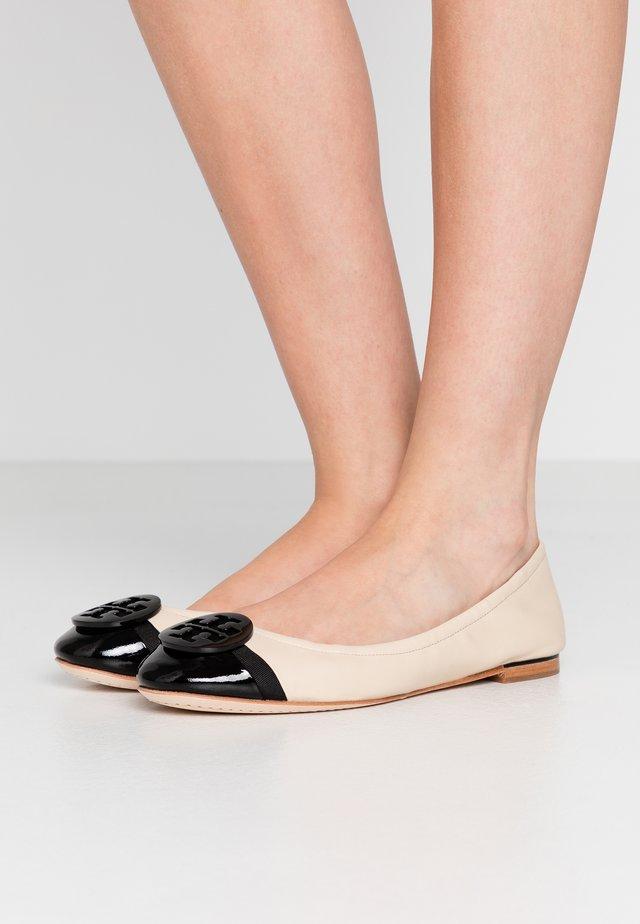 MINNIE CAP TOE BALLET - Ballet pumps - dulce de leche/perfect black