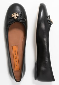 Tory Burch - CHARM BALLET - Baleríny - perfect black - 1