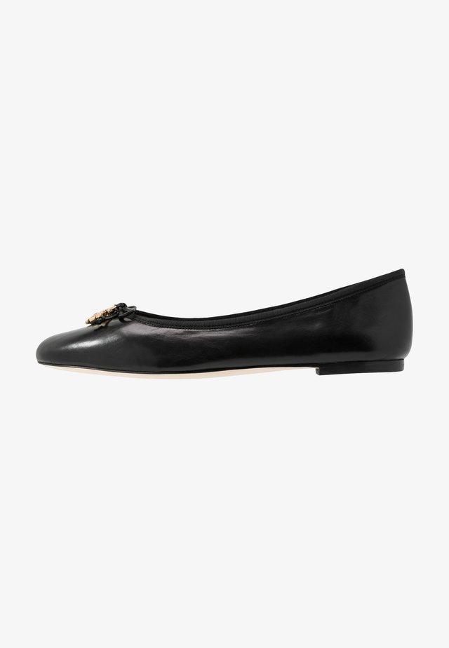 CHARM BALLET - Ballerinaskor - perfect black