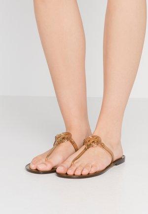 MINI MILLER FLAT THONG - Japonki - brown