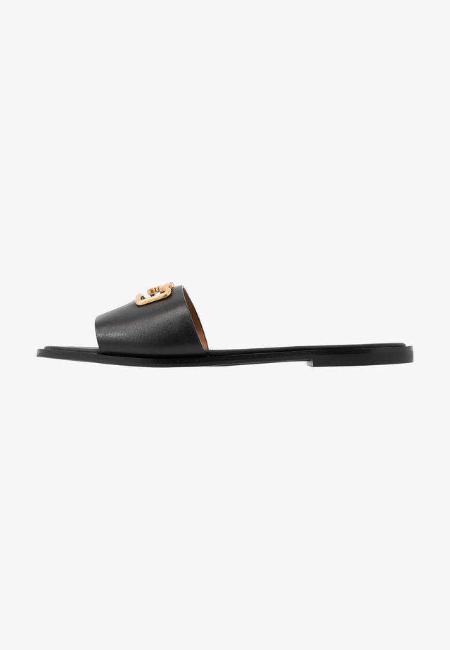 SELBY SLIDE - Pantolette flach - perfect black